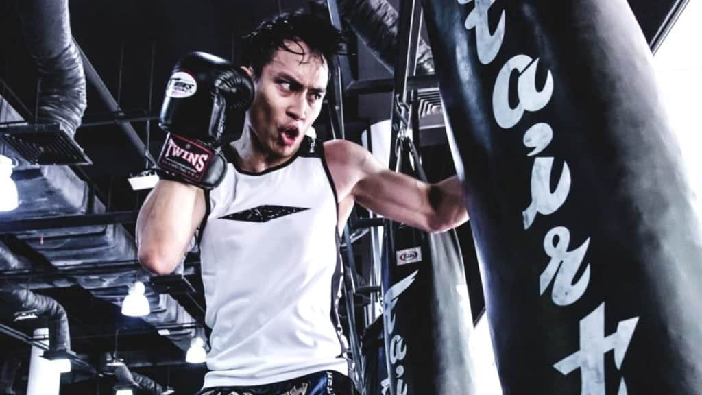 15 muay thai heavy bag workouts