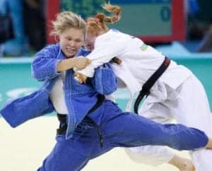 good first martial art judo ronda rousey