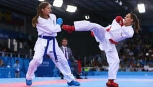 Karate good martial art for children bullying