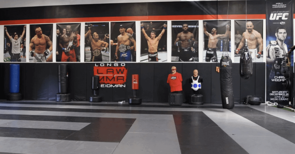 longo weidman serra best mma gym in the world