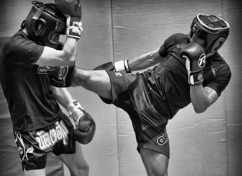 beginner sparring muay thai