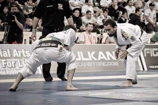 Brazilian jiu jitsu first competition