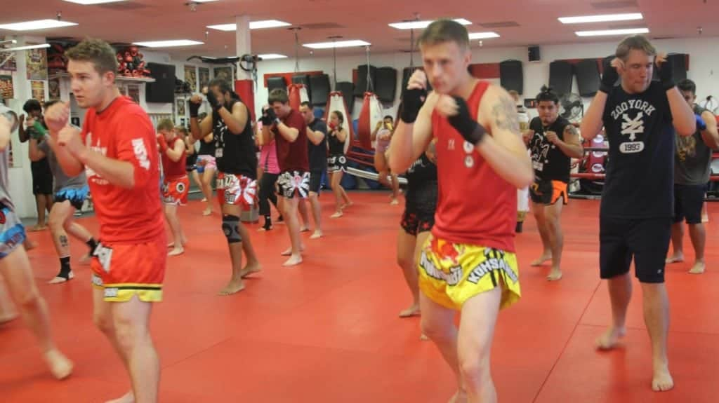 what to expect first muay thai class