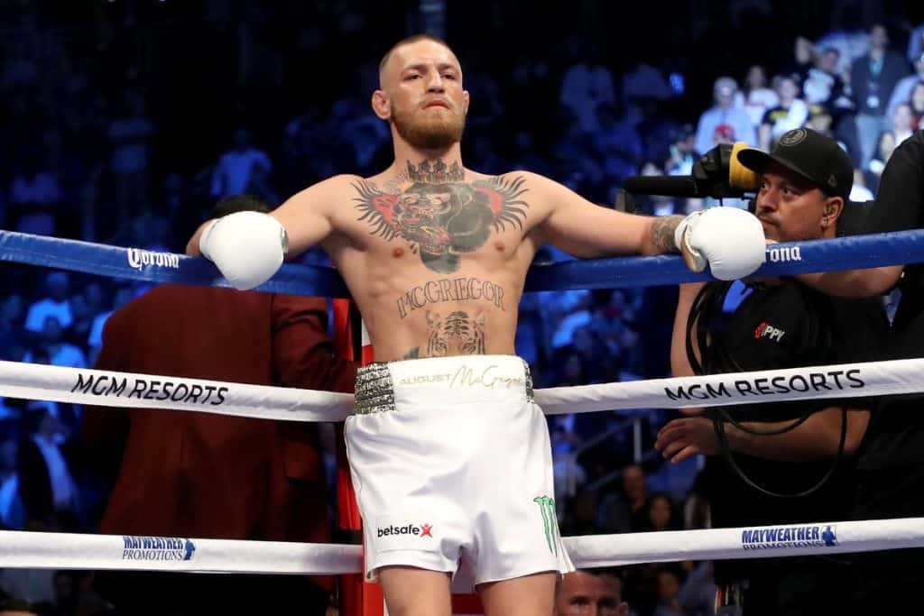 conor mcgregor best boxer in mma