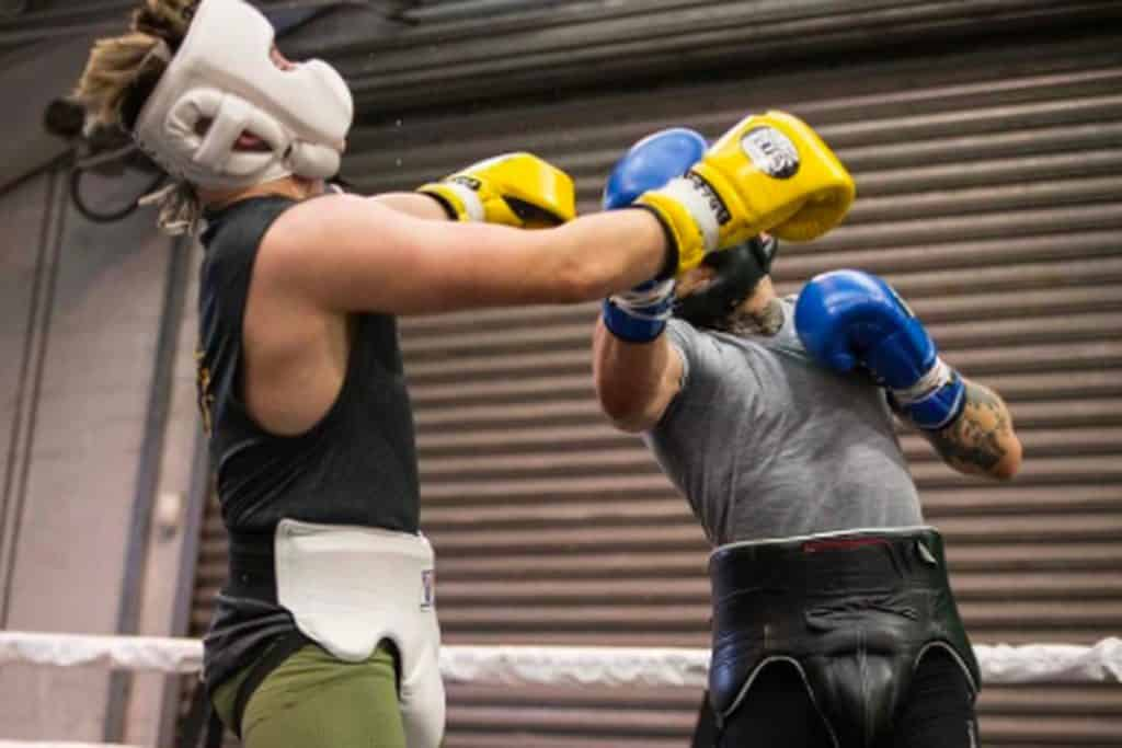sparring for beginners