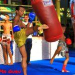 first muay thai class